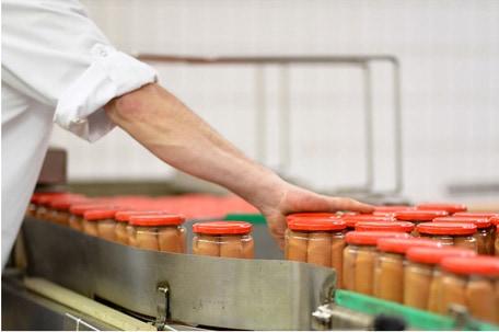 Collage Lebensmittelherstellung Fleischerei